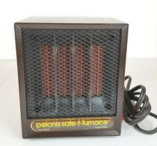 Pelonis Safe-T-Furnace Ceramic Portable Heater 1260W with Washable Filter