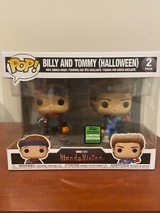 Funko Billy and Tommy (Halloween)  - Wandavision - 2021 Spring Exclusive