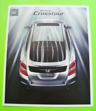 2012 HONDA CROSSTOUR DELUXE COLOR CATALOG Brochure 16-pgs XLNT+