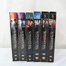 Supernatural Seasons 1- 6 DVD Lot