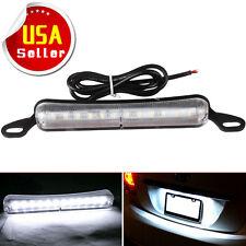 6000K Xenon White 12-SMD LED Bolt-On Car Truck License Plate Lights DRL Lamp US