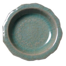 Antique Korean Small Koryo Celadon Rim Dish