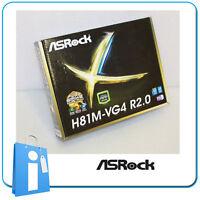 Placa base mATX H81 ASRock H81M-VG4 R2.0 Socket 1150 con Accesorios