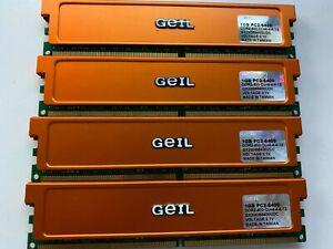 GEIL 1GB PC2-6400 DDR2- 800 CL = 4-4-4-12 - AUS SELLER