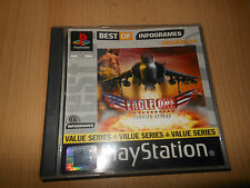 SONY PS1 PAL - EAGLE ONE HARRIER ATTACK GAME BUEN COLECCIONISTAS