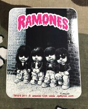Ramones Garbage Pail Kids Sticker R010S Decal Motorhead Black Flag Dead Boys
