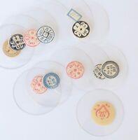 TASCHENUHRGLAS SAVONETTE Uhrglas D 214-350 Glas f. Taschenuhr pocket watch glass