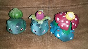 Pokemon Bulbasaur Ivysaur And Venusaur Figures