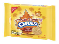 NEW OREO Golden Sandwich Cookie Limited Edition MAPLE FLAVOR CREME 12.2 Size