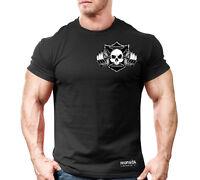 New Men's Monsta Clothing Fitness Gym T-shirt - CSS-Havoc