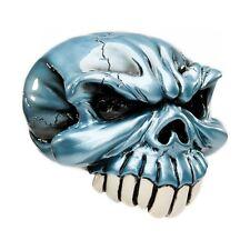 SHIFT KNOB GEAR SHIFT BLUE SKULL TURBO 350 400 POWERGILDE HAND CRAFTED ORNAMENT
