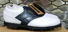 Ladies Nike Royal a.s. saddle Navy & White golf shoes 5.5 5 1/2 new in box