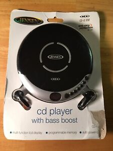 New Jensen Personal Portable CD Walkman Player With Bass Boost CD-60C See Photos