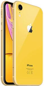 Apple iPhone XR 64GB ITALIA Yellow Giallo LTE NUOVO Originale Smartphone iOS