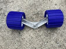 Complete Genuine Roller Bunk arm and rollers for boat trailer