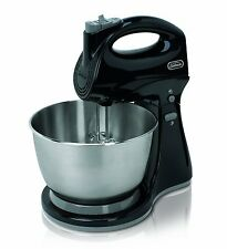 Sunbeam 5-Speed Hand & Stand Cake Egg Food Mixer Beater Stainless Steel Bowl NEW