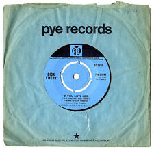 "DICK EMERY.IF YOU LOVE HER / DAY AFTER DAY.UK ORIG 7"" & CO/SL.EX"