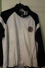 G-III Boston Bruins Full Zip NHL Light Jacket Men's XL  White