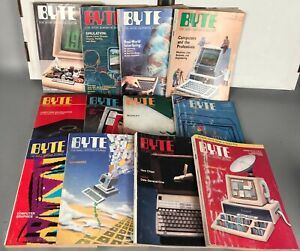 BYTE Magazine - 1984 - 12 Issues