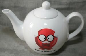 Comic Relief Red Nose Day Snotty Professor Teapot BN