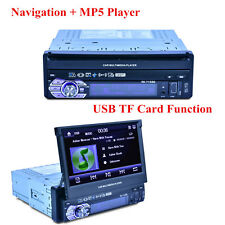 "7"" HD MP3 MP5 Player Bluetooth FM Radio USB+GPS Navigation with Remote Control"