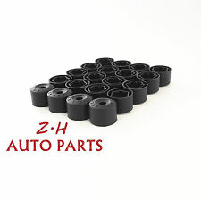 20xWheel Lug Nut Anti-theft Wheel Lug Nut Cap Cover Fit VW Rabbit Golf Jetta Eos