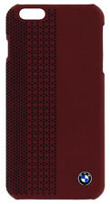 BMW Official iPhone 6 6S  Red Perforated Signature Hard Case BMHCP6PER