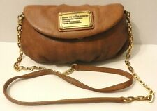 Marc by Marc Jacobs Brown 100% Leather Crossbody Shoulder Bag Purse Card Slots