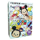 FUJIFILM FUJI INSTAX MINI Instant FILM 1PACK  / NEW DISNEY TSUM TSUM 4 8 25 SP-1