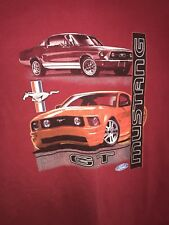 Vintage Ford Mustang GT T-Shirt Red Mens XL 90's