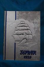 1939 West End High School Nashville Tennessee Zephyr Annual