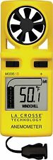 EA-3010U La Crosse Technology Handheld Anemometer with LED Backlight & Neck Band