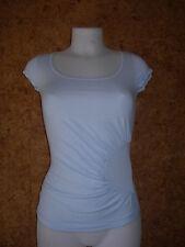 Tee-Shirt manches courtes, femme, REEBOK- Bleu ciel-XS (36)/NEUF/réf =AEWL7021