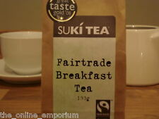 Black FORLIFE 18oz Stump Loose Leaf Teapot With Bamboo Tray Creamer & Suki Tea