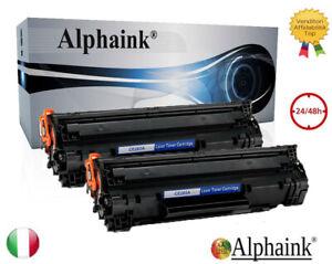 2 TONER PER Canon EP725 MF-3010 LBP6000 B BP6010 LBP6018 LBP6020 B LBP6030 CE285