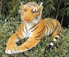 New Giant 75/90/110/125/130/170cm Soft tiger Stuffed Plush Animal Toy 17