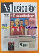 rivista MUSICA ! REPUBBLICA 12/1995 Cramberries Paola Turci Pink Floyd No*cd