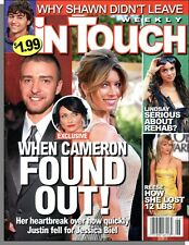 In Touch Weekly - 2007, February 5 - Cameron Found Out About Justin and Jessica