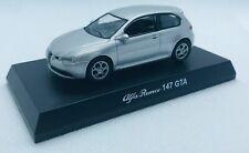 KYOSHO 1/64 Alfa Romeo 147 GTA Silver Diecast Model Car