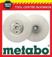 """METABO BACKING PAD AND LOCK NUT SET FOR SANDING – SUIT 9""""/230mm ANGLE GRINDER"""