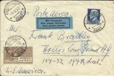 Italy Sc#C7-SCARCE,#223 CADENABBIA COMO Airmail to USA, Lake Como Hote