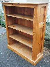 A Beautiful Vintage Rustic Chunky Pine Handmade Cottage/Farmhouse Bookcase Unit