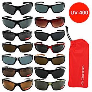 KAPPA Sonnenbrille Brille Sonnenbrillen Brillen Damen Herren Sport Schwarz braun