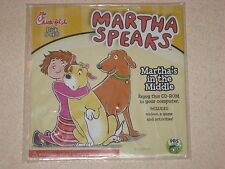Chick-fil-A Kids Meal Toy CD Martha Speaks Martha's in the Middle 5 of 5