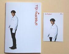 BTS Bangtan Boys SK Telecom Official Notebook + Postcard Post Photo Card - V