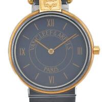 Auth Van Cleef & Arpels La Collection No.22 43106 Quartz Unisex Watch O#90409