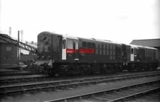 PHOTO  BO-BO DIESEL ELECTRIC TYPE 16 CLASS D8408 AND D8409 DONCASTER WORKS SEPTE
