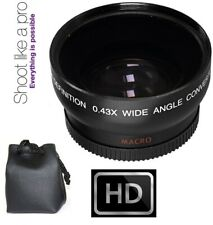 HD WIDE ANGLE LENS WITH MACRO LENS FOR SONY HDR-PJ10