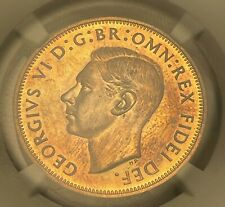 More details for 1951 king george vi proof penny ngc pf66 top pop