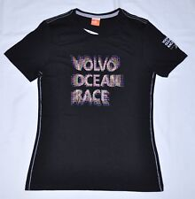 Girls PUMA Volvo Ocean Race Sailing Black Tee T-Shirt size L $25